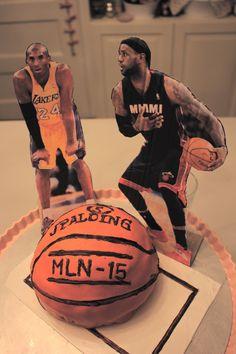 Basketball cake for my lovely daughter