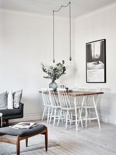Scandinavian Living Room Designs I am not absolutely sure if you have noticed of a Scandinavian interior design. Scandinavian Living, Scandinavian Interior, Dining Room Inspiration, Interior Inspiration, Furniture Inspiration, Interior Ideas, Room Interior, Interior Design, Modern Interior