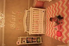 handmade banner girls nursery
