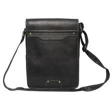 Comfort 13 inch Pure Leather Laptop Black Bag for men and women & unisex EL14