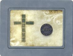 Christian Plaque - Hand Crafted - Jesus - Old Fashioned Cross - Christian - God
