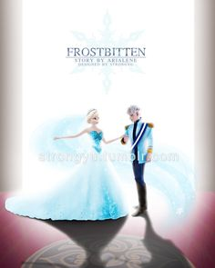 "How could I even forget to upload this pic? A fanart for the fanfiction ""Frostbitten"" by Arialene Link : www.fanfiction.net/s/9923311/1…"