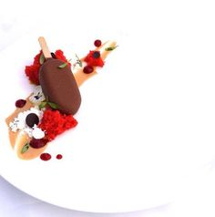 Angel Ramirez Betancourt ( Bahama's ) : Red Velvet - white chocolate snow - bahibe popsicle