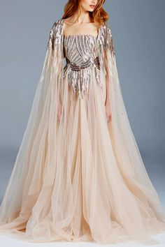 This may be a re-pin... but doesn't she look beautiful...  PAOLO SEBASTIAN Couture Spring/Summer 2016    jαɢlαdy