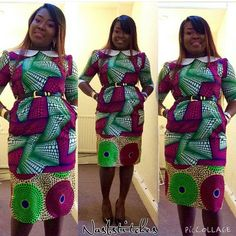 Fall Head Over Heels for These Show-Stopping Ankara Styles - Wedding Digest Naija Head Over Heels, Kitenge, African Attire, Ankara Styles, African Fashion, Cold Shoulder Dress, Fall, Fabric, Stuff To Buy