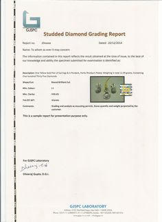 What things should be #checked_before_buying_diamond and which is good diamond testing laboratory in India.gjspc is best testing lab in india.
