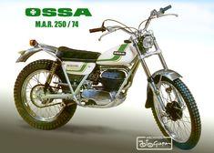 Ossa McAndrews replica Off Road Bikes, Dirt Bikes, Classic Motors, Classic Bikes, Motos Trial, Moto Cross, Enduro, Trial Bike, Vintage Motocross