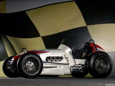 1957 McCluskey Sprint Car (Tamale Wagon Version)