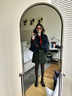 Everything Leandra Medine wore to freezing-cold NYFW 2017.