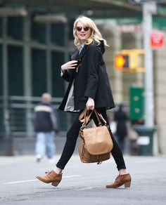 "Emma Stone is awesome at generally looking adorable at all times. ""Oh hi, I'm just walking down the street perfectly pulled together, but you wouldn't even notice because I'm so fun and charming."""
