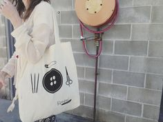 LIMITED RUN TOTE bag Renew Vintage / Calico bag / by renewvintage