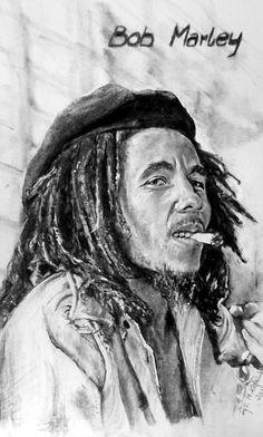 bob marley Bob Marley Legend, Bob Marley Art, Reggae Bob Marley, Reggae Art, Reggae Style, Bob Marley Shirts, Marley Family, King Robert, Art