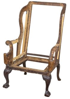 Chippendale Wing Chair Frame | обтяжка мебели | Pinterest | Wingback Chairs,  Modern And Armchairs