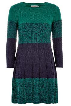 Louche Psyche Ombré Knit Dress