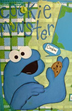 KitsNbits: More Sesame Street Paper Piecings Posted on Etsy