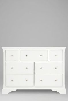 Buy Marielle Wide Chest from the Next UK online shop Next At Home, Next Uk, Chest Of Drawers, Home Accessories, Kids Room, Home And Garden, Storage, Uk Online, Stuff To Buy