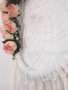 dream catcher dream catcher floral dreamcatcher large | Etsy Dream Catchers, Etsy, Wedding Dresses, Floral, Home Decor, Fake Flowers, Colors, Bride Dresses, Dreamcatchers