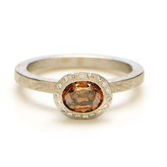 Greenwich Jewelers | Products | Category | Rings | Engagement | Todd Reed Cognac Diamond Ring