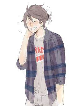 I ALSO REALLY LIKE YAMAGUCHI, TOO, NOW, AND I FEEL BAD FOR NOT NOTICING HIM EARLIER ON IN THE SERIES BECAUSE HE WAS TOO OVERSHADOWED BY TSUKKI WHOM I STILL LOVE