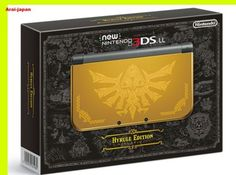 new Nintendo 3DS LL Hyrule Hailar Gold Limited console Region Japan zelda  in Video Games & Consoles, Video Game Consoles | eBay