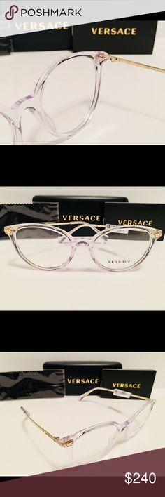 f8075ef5c6b Versace Eyeglasses VE3251B 148 Crystal