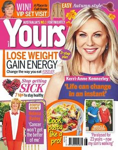 #Yours #April #2016 #magazines #realconnections #KerriAnneKennerley