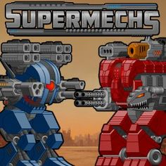 Mech combat game. Create the ultimate robot fighting machine and win battles