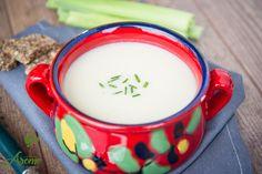 Crema de conopida si praz  (9) Biryani, Glass Of Milk, Supe, Drinks, Tableware, Food, Romanian Recipes, Thermomix, Drinking