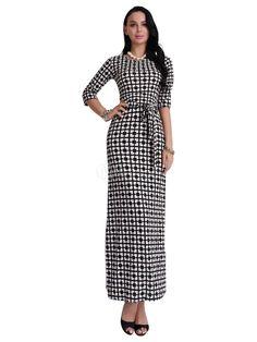 #maxi #dress #afflink Black Long Dress - $24.99 http://shareasale.com/r.cfm?b=984604&u=1560813&m=69038&urllink=https%3A%2F%2Fwww%2Emilanoo%2Ecom%2Fproduct%2Fblack%2Dlong%2Ddress%2Dhalf%2Dsleeve%2Dround%2Dneck%2Dplaid%2Dwomen%2Ds%2Dmaxi%2Ddresses%2Dp724246%2Ehtml%23m940253&afftrack=