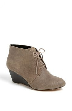 Sole Society 'Delma' Wedge Bootie available at #Nordstrom only $69.95 and great!!