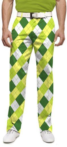 d891793ae #StPatricksDayApparel #VacationPants #UniquePants #MensGolfApparel  #MensArgylePants Mens Golf Fashion, Mens Golf