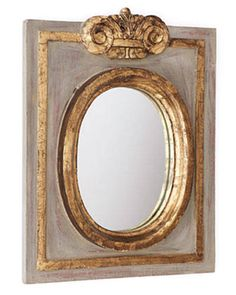 French mirror by Lars Bolander NY; larsbolander.com.