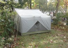 Old Camping Tents Check out these amazing conversion tents. These are very cool www.tentsngear.com