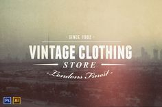 Vintage Logo/Insignia Collection ~~ Five simple, clean, nostalgic Insignias/logos for your next vintage project.  * Available and fully editable text in both PSD and AI - (Full Vector format in AI only) * All fonts are free, and download links are listed in a help file.  Included as a bonus
