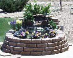 Pond ideas on pinterest koi ponds ponds and turtle pond for How to build a koi pond above ground
