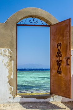 Would love to go to Egypt and find this door to the sea