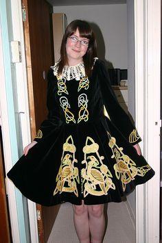 beautiful traditional dress Irish