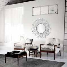 Spinning Circle Frame Mirror Como Glam Entryway Dining Round Wall Art Decor #SpinningMirror #WallMount #HomeDecor #AccentPiece #RoundFrame #Entryway