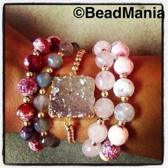 All handmade in BeadMania, located in Puerto Rico,we are the hippest beadstore in the Caribbean! 787-744-7665