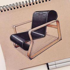 Industrial Designer @reidschlegel Alvar Aalto\'s 193...Instagram photo | Websta