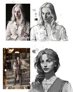 Digital Painting Tutorials, Digital Art Tutorial, Art Tutorials, Art Reference Poses, Character Design Inspiration, Pretty Art, Portrait, Aesthetic Art, New Art