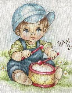 Resultado de imagem para fralda pintada disney baby