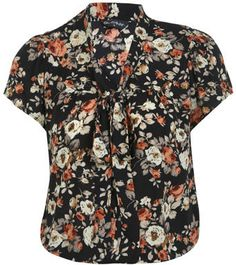 #missselfridge.com        #love                     #Floral #Pussybow #Blouse #Love #Apparel            Floral Pussybow Blouse - We Love - Apparel                                    http://www.seapai.com/product.aspx?PID=1064482