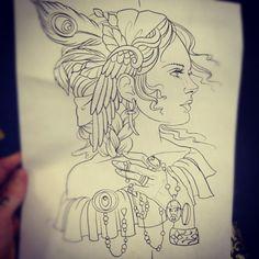 tattoo by @ericaflannes » Instagram Profile » Followgram