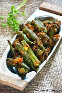 Bhindi masala is a very delicious stir fry okra made with some basic spices along with tangy tomato. It is very simple to make and very flavourful when served with roti or phulka.