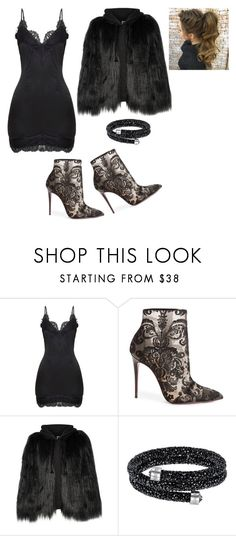"""""""Untitled #577"""" by gabi-gabi1 ❤ liked on Polyvore featuring Christian Louboutin and House of Fluff"""