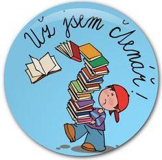 pasování na čtenáře - Hledat Googlem School Classroom, Elementary Schools, Education, Reading, Cards, Literatura, Primary School, Reading Books, Maps