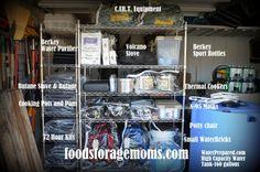 72 Hour Kit Storage
