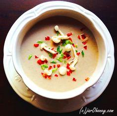 mushroom medley scape soup by jarOhoney.com