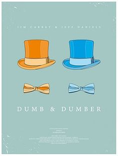OMG Dumb & Dumber is so......CHIC. Never thought I'd see the day.